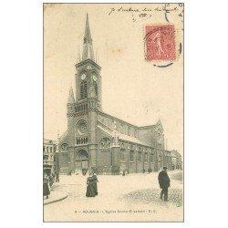 carte postale ancienne 59 ROUBAIX. Eglise Sainte-Elisabeth 1906