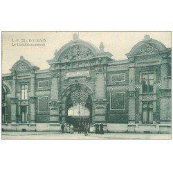 carte postale ancienne 59 ROUBAIX. Le Conditionnement Chambre du Commerce 1920