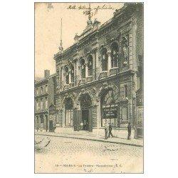 carte postale ancienne 59 ROUBAIX. Le Théâtre Hippodrome 1904