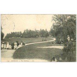carte postale ancienne 59 ROUBAIX. Parc Barbieux 1906