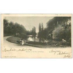 carte postale ancienne 59 ROUBAIX. Parc de Barbieux 1902