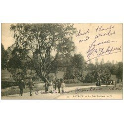 carte postale ancienne 59 ROUBAIX. Parc de Barbieux 1907