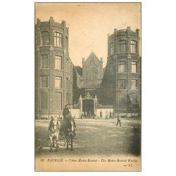 carte postale ancienne 59 ROUBAIX. Usine Motte-Bossut 1919