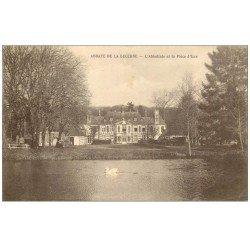 carte postale ancienne 50 ABBAYE DE LA LUCERNE. Abbatiale 1938