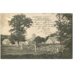 carte postale ancienne 50 ABBAYE DE LUCERNE. Les Dépendances 1904
