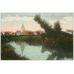 carte postale ancienne 50 ANNEVILLE-EN-SAIRE. Eglise du Village
