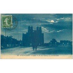 carte postale ancienne 50 AVRANCHES. Eglise Notre-Dame des Champs de Nuit