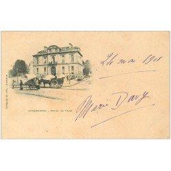 carte postale ancienne 50 AVRANCHES. Hôtel de Ville 1901