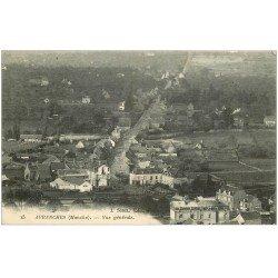 carte postale ancienne 50 AVRANCHES. Vue générale 1916
