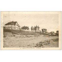 carte postale ancienne 50 BARNEVILLE. La Grève 1929