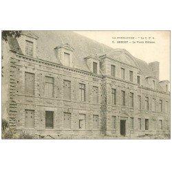 carte postale ancienne 50 BRECEY. Vieux Château