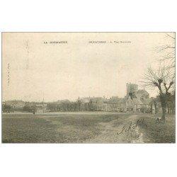 carte postale ancienne 50 BRICQUEBEC. Vue générale 1903