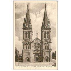 carte postale ancienne 50 CHERBOURG. Eglise Notre-Dame du Voeu