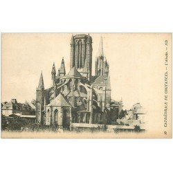 carte postale ancienne 50 COUTANCES. Cathédrale 10