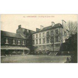 carte postale ancienne 50 COUTANCES. Collège Jeunes Filles