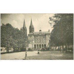 carte postale ancienne 50 COUTANCES. Hôtel de Ville 19
