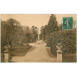 carte postale ancienne 50 COUTANCES. Jardin des Plantes 1909