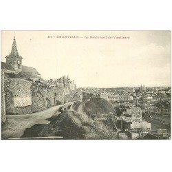 carte postale ancienne 50 GRANVILLE. Boulevard de Vanfleury