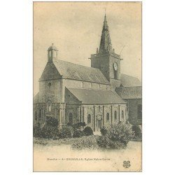 carte postale ancienne 50 GRANVILLE. Eglise Notre-Dame n°4
