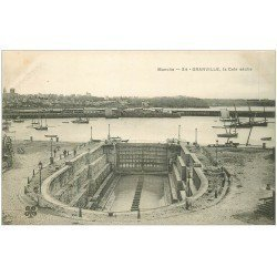 carte postale ancienne 50 GRANVILLE. La Cale sèche