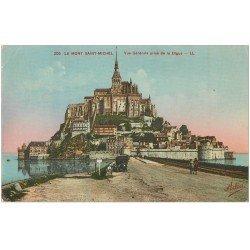 carte postale ancienne 50 LE MONT SAINT-MICHEL 1934
