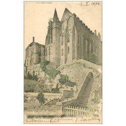 carte postale ancienne 50 LE MONT SAINT-MICHEL. 1903