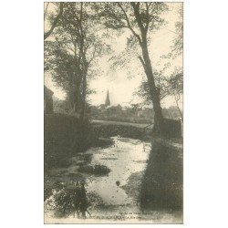 carte postale ancienne 50 SAINT-PAIR-SUR-MER. La Rivière