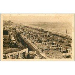 carte postale ancienne 50 SAINT-PAIR-SUR-MER. Plage 1938