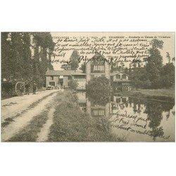 carte postale ancienne 50 VILLEDIEU. Fonderie et Usines 1904
