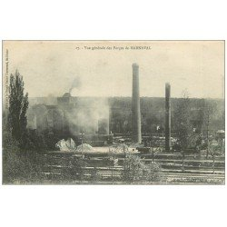 carte postale ancienne 52 MARNAVAL. Ls Forges