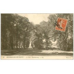 carte postale ancienne 52 BOURBONNE-LES-BAINS. Le Parc Montmorency
