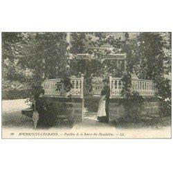 carte postale ancienne 52 BOURBONNE-LES-BAINS. Pavillon Source des Bénédictins