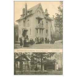 carte postale ancienne 52 BOURBONNE-LES-BAINS. Source Maynard