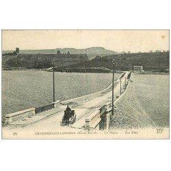 carte postale ancienne 52 CHARMES-LEZ-LANGRES. La Digue 1927