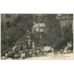 carte postale ancienne 52 CHAUMONT. Grand Pardon. Reposoir Place des Capucins