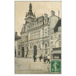carte postale ancienne 52 CHAUMONT. La Caisse d'Epargne 1916