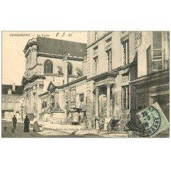 carte postale ancienne 52 CHAUMONT. Le Lycée 1906