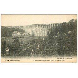 carte postale ancienne 52 CHAUMONT. Le Viaduc