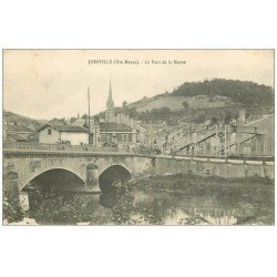 carte postale ancienne 52 JOINVILLE. Pont de la Marne 1918