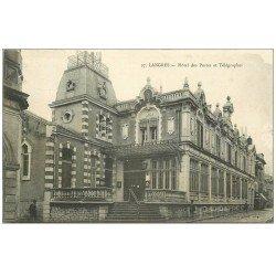 carte postale ancienne 52 LANGRES. Hôtel des Postes et Télégraphes 1915