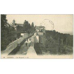 carte postale ancienne 52 LANGRES. Les Remparts 1915