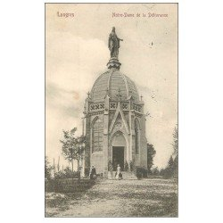 carte postale ancienne 52 LANGRES. Notre-Dame de la Délivrance 1905