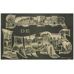 carte postale ancienne 52 LANGRES. Souvenir