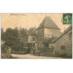 carte postale ancienne 52 MACONCOURT. Le Château 1913voiture ancienne
