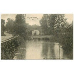 carte postale ancienne 52 MEUSE. Route de Montigny