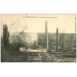 carte postale ancienne 52 SAINT-DIZIER. Forges de Marnaval 1912