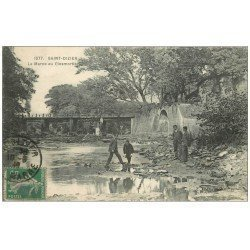 carte postale ancienne 52 SAINT-DIZIER. La Marne au Closmortier 1916