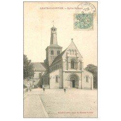 carte postale ancienne 53 CHATEAU-GONTIER. Eglise Saint-Gean ou Jean 1915