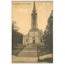 carte postale ancienne 53 CRAON. Eglise Saint-Nicolas