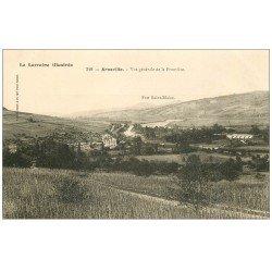 carte postale ancienne 54 ARNAVILLE. La Frontière et Fort Saint-Blaise